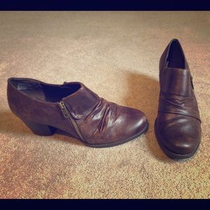 BareTraps Ankle Boots (Size 9) Brown